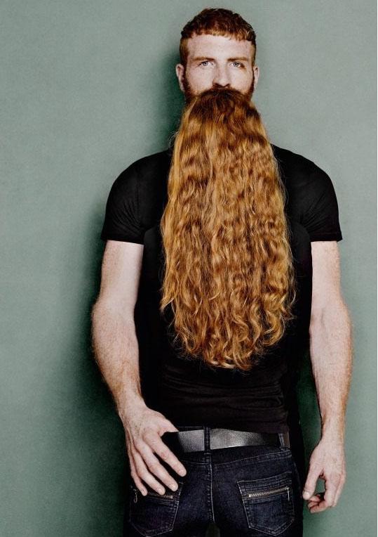 Борода между ног фото